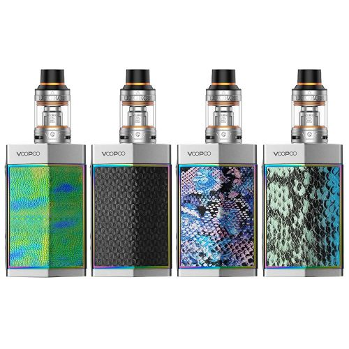 TOO 180W Kit With UFORCE Tank Silver Frame