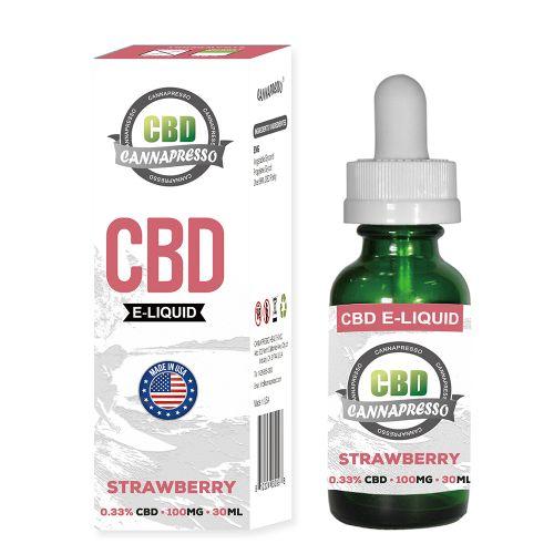 Strawberry CBD Vape Oil 30ml