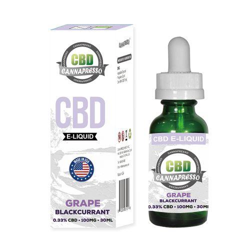 Grape Blackcurrant CBD Vape Oil 30ml