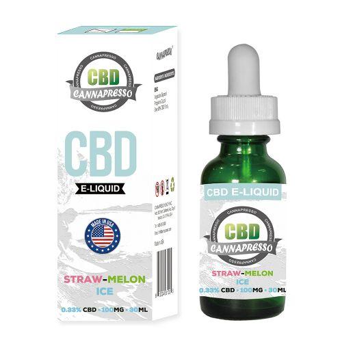 Straw-melon Ice CBD Vape Oil 30ml