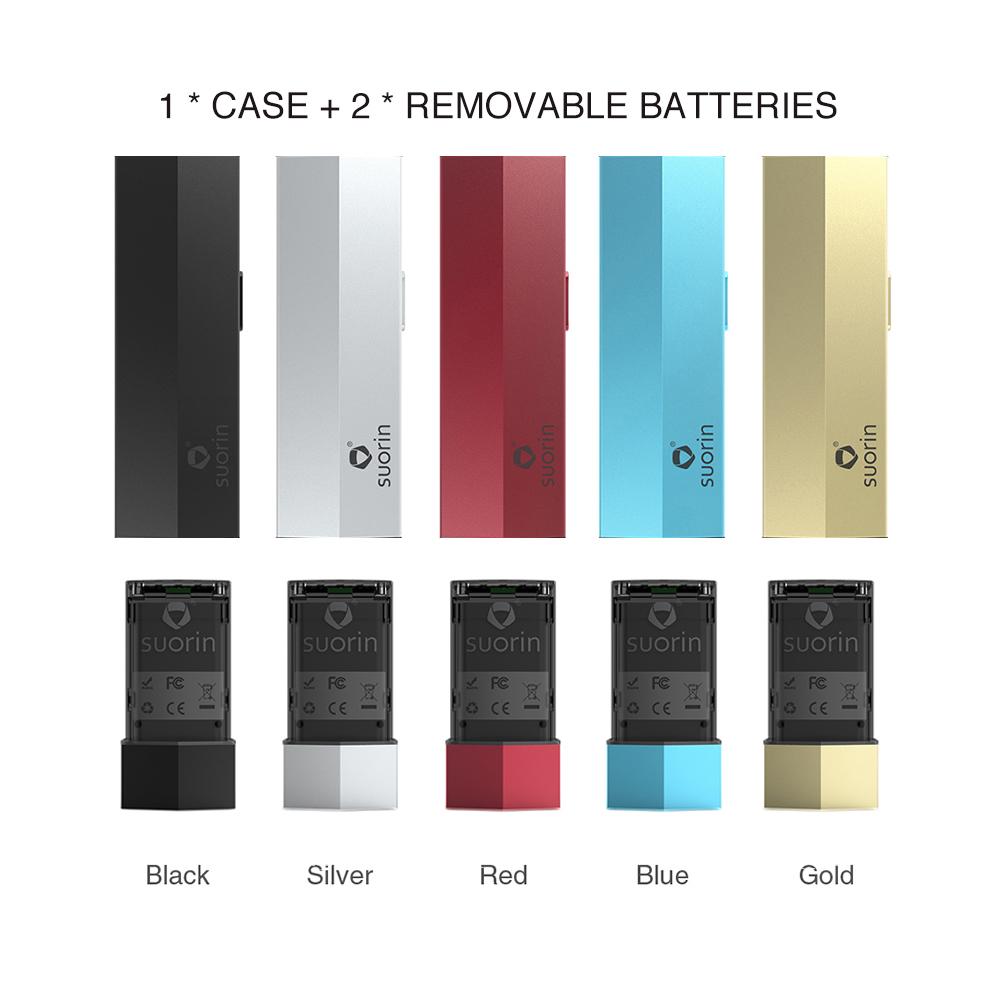 Suorin Edge Case with 2 Batteries 230mah