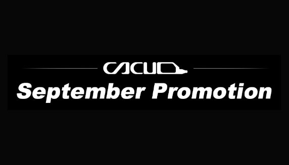 CACUQ September Promotions