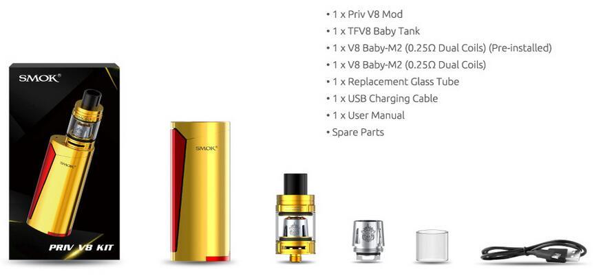 SMOK Priv V8 starter Kit