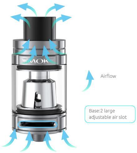 SMOK Priv V8 Kit air flow