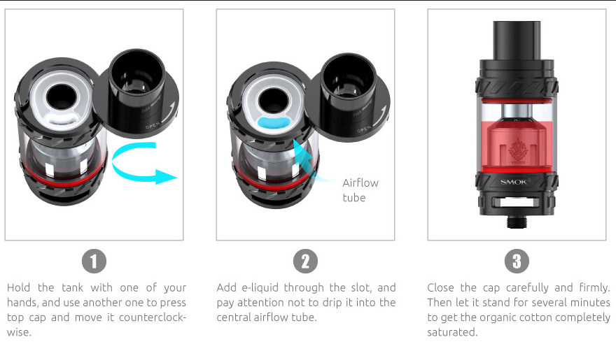 There Will Always A Type Suits You: SMOK TFV12 Atomizer | Vaping