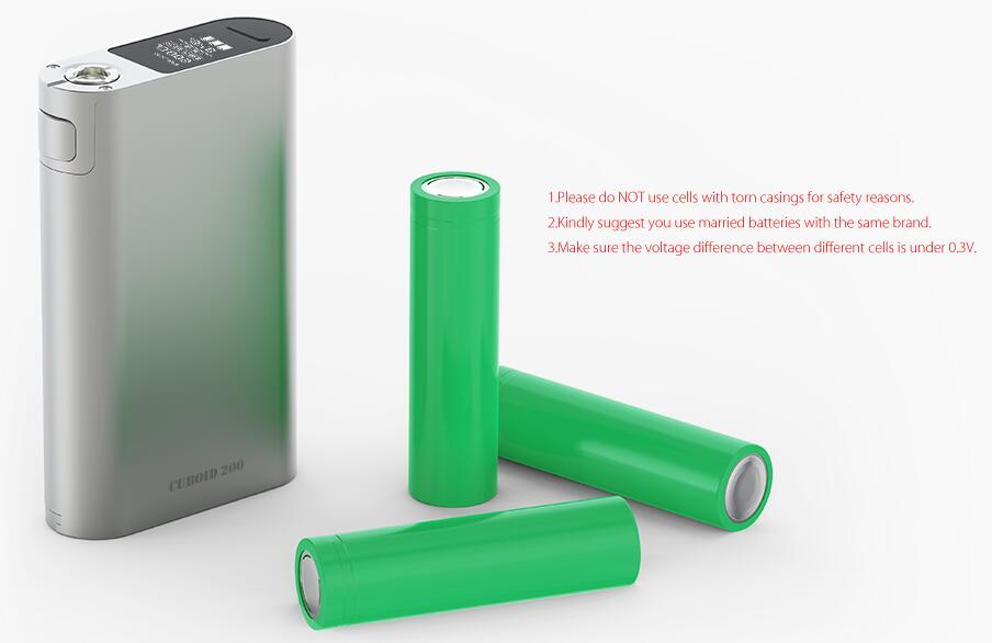 joyetech cuboid 200w